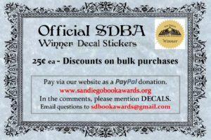 Discounts for SDBA Winner Sticker Bulk sales